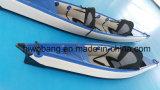 Kayak gonflable de point de baisse pour l'océan