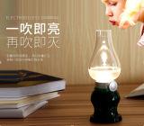 광도 조정가능한 눈 돌보아 주는 테이블 통제 램프 Retro 한번 불기 LED 램프