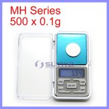 500g x 0.1g ou 0.01g Transparent Cover/Tray Digital Electronic MH 500 Scale