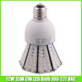 Yard Lightingのための暖かいWhite 12 Watt LED Corn Bulb