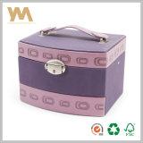 Caixa de jóia da alta qualidade, caso de limpeza, caixa de armazenamento