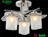 A melhor luz de vidro moderna de venda do candelabro da luz do pendente da fábrica de Zhongshan do teto