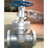válvula de porta da flange de Wcb do aço de carbono do molde de 150lb 300lb 600lb