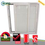 Doppia finestra lustrata di UPVC/PVC, vetro interno dei ciechi di finestra