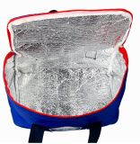 Kundenspezifischer Kühlvorrichtung-Beutel des Mittagessen-Beutel-Nylongriff-Picknick-Beutel-190d Oxford
