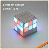 2016 le haut-parleur du cube le plus neuf DEL Bluetooth (ID6025)