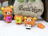 USB encantador Pendrive dos desenhos animados da vara da memória do USB do urso