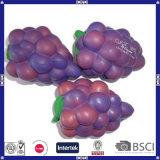 Het aangepaste Fruit van het Stuk speelgoed van de Lage Prijs Pu van de Vorm en van het Embleem