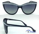 2016 nuevos estilos de las gafas de sol del ojo de gato dirigen de fábrica