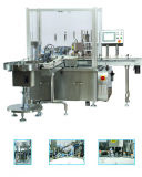 Zhonghuan 자동적인 점안액 채우고는 및 캡핑 기계