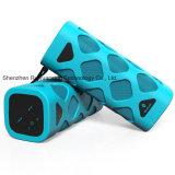 Altofalante portátil de Bluetooth com o microfone interno (azul)