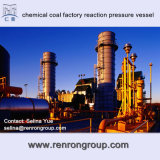 Химически петрохимический сосуд под давлением V-10 реакции фабрики угля