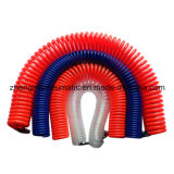 1/2 '' PU-Spiralschlauch; Wasser-Rohr für Wasser (schwarze Spiralschlauch mit männlichen und weiblichen Anschlüsse)