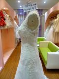 Cerimonia nuziale di Caldo-Vendita che copre il vestito da cerimonia nuziale sottile delle donne Uw4045