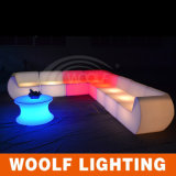 Colore che cambia il sofà chiaro di /Illuminated LED del sofà di /LED del sofà della stanza del LED