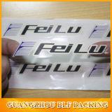 Escrituras de la etiqueta a todo color del plástico del claro de la impresión
