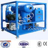 Máquina dobro da purificação de óleo vegetal da isolação do vácuo dos estágios