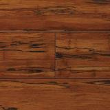 Suelo de bambú sólido de Strandwoven del azúcar de Brown