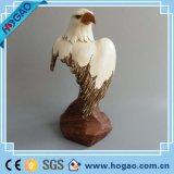 ホーム装飾のための卸し売り樹脂のフクロウの彫像