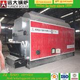 Tipo caldeira de Dzl de vapor despedida de alta pressão de carvão de madeira de 4ton/Hr
