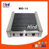 Machine électrique de traitement au four de matériel d'hôtel de matériel de cuisine de machine de nourriture de matériel de restauration de BBQ de matériel de boulangerie de la CE du gril de rouleau de hot-dog (WHD-14)