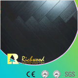 Geprägter Hickory-wasserdichter lamellenförmig angeordneter Fußboden der Werbungs-12.3mm AC4
