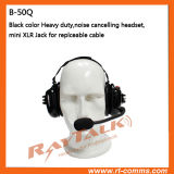 Bruit Cancelling Headset avec Microphone pour Walkie Talkies GP340