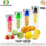 подгонянная 700ml бутылка воды Infuser плодоовощ Tritan, бутылка вливания плодоовощ BPA свободно пластичная (HDP-0828)