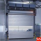 Porta de aço isolada do obturador do rolo do elevado desempenho segurança segura (HF-J186)