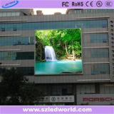 Panneau (P6, p8, p10, p16) d'écran fixe mince de DEL/affichage vidéo extérieur d'intérieur de DEL
