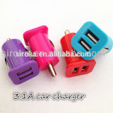dc 2 Ports Car Charger del USB Car Charger Adaptor Tablet del USB Car Charger 2.1A di 12V 2A Output