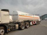 半中国の液化天然ガスの液体酸素窒素のアルゴンの二酸化炭素のタンク車のトレーラー