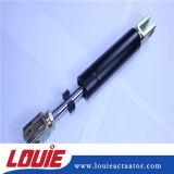 Ressort personnalisé de support de gaz de levage avec l'ajustage de précision d'extrémité d'oeillet en métal