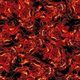 Kingtop 0.5m Schedels van de Breedte en de Film van de Druk van Aqua van het Ontwerp van de Vlam