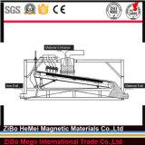 Placa-Tipo elevado separador magnético do inclinação para o quartzo, silicone, caulim