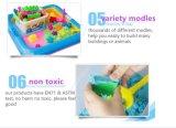 Горячий подарок 2 голубое DIY искусствоа типа ASTM En71 сбывания y воспитательный моделируя игрушки для песка кремнезема живого франтовского космоса игры малышей волшебного