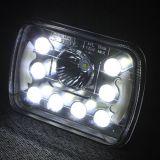 Camion fuori strada del faro da 7 pollici LED con il fascio massimo minimo dell'occhio di angolo di DRL