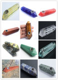 as tubulações de vidro da classe superior de 14mm para as tubulações de fumo da água igualmente vendem o prego do titânio do prego de quartzo do moedor