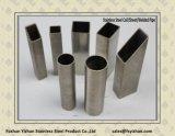 304 ha saldato il tubo rettangolare dell'acciaio inossidabile