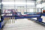 Cortadora del CNC de las tiras para la viga del metal H