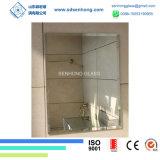 浴室ミラーの構成ミラーのための明確なか灰色または青銅色または黒くまたは青または緑または緩和されたまたは安全ビニールの背部銀ミラー