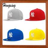 Boné de beisebol liso do tampão do painel do chapéu 6 do Snapback de lãs