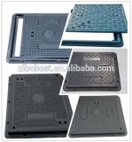 Fibra de vidro composta quadrada FRP SMC BMC Manhole Covers with Frame