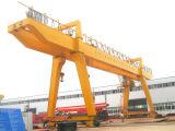 40 tonnes constructeur sur rail de qualité de grue de portique de poutre de double de 50 tonnes