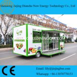 2017 de Vrachtwagen van de Kar van het Voedsel van de Levering van China voor het Verkopen van Fruit en Groenten