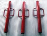 Outil manuel d'acier inoxydable pour l'attache, gestionnaire enduit d'époxyde d'attache