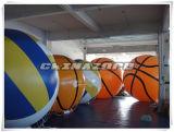 Nuovo prezzo di fabbrica dell'aerostato dell'elio della replica di pallacanestro di disegno