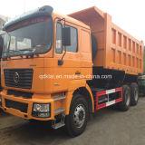 알제리아 Shacman F2000 290HP 6X4를 위해 판매를 위한 30 톤 팁 주는 사람 트럭