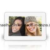 Marco modificado para requisitos particulares de Digitaces del modelo del espejo de la pantalla de 7inch LCD (HB-DPF704A)
