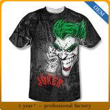カスタムメンズ昇華印刷によって個人化されるTシャツ